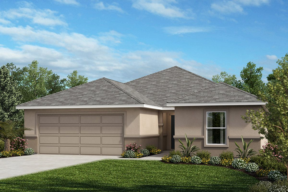 Exterior featured in the Plan 1933 By KB Home in Orlando, FL