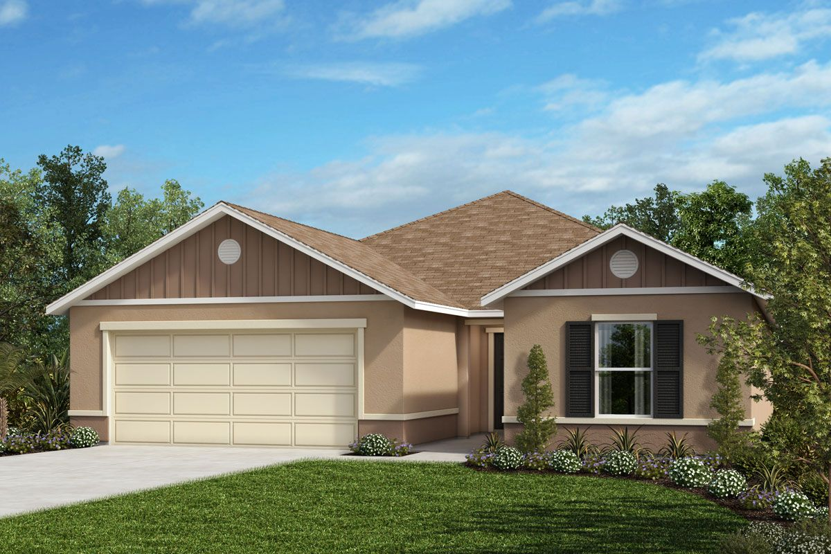 Exterior featured in the Plan 1933 By KB Home in Melbourne, FL