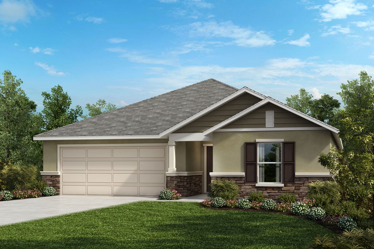 Exterior featured in the Plan 2168 By KB Home in Melbourne, FL