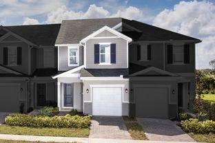 Plan 1557 Modeled - Landings at Riverbend Townhomes: Sanford, Florida - KB Home