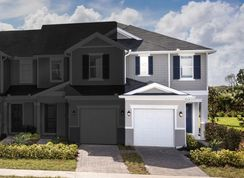 Plan 1685 Modeled - Landings at Riverbend Townhomes: Sanford, Florida - KB Home