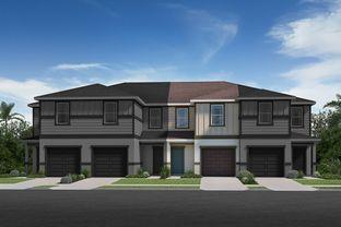 Plan 1371 Modeled - Mirabella Townhomes: Davenport, Florida - KB Home