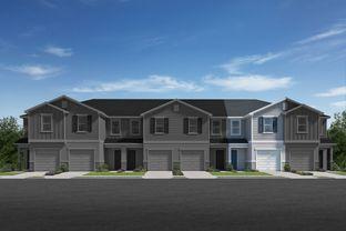 Plan 1418 - Mirabella Townhomes: Davenport, Florida - KB Home
