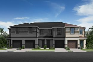 Plan 1434 Modeled - Mirabella Townhomes: Davenport, Florida - KB Home