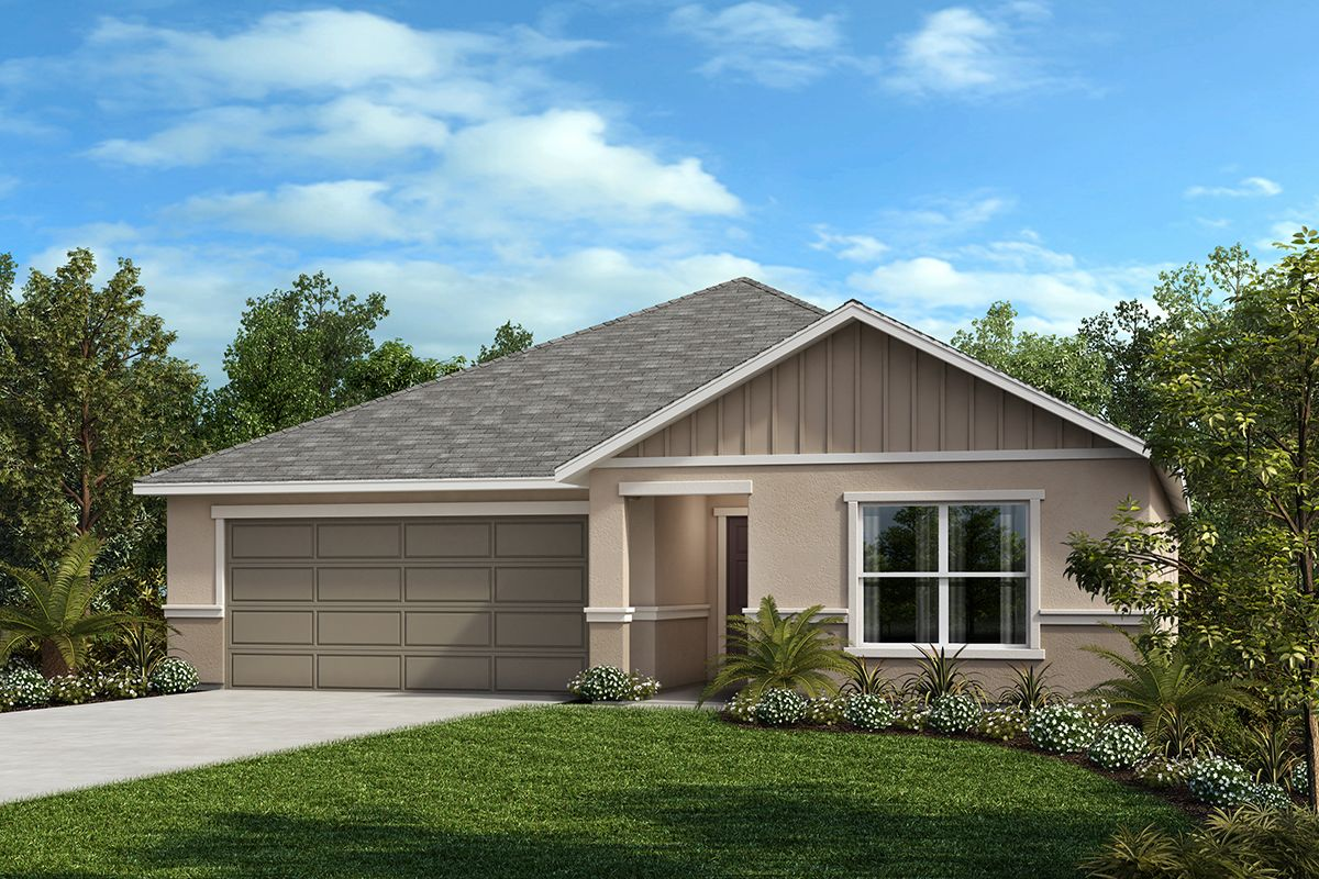 Exterior featured in the Plan 2168 Modeled By KB Home in Lakeland-Winter Haven, FL