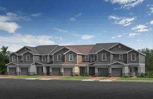 Plan 1463 Modeled - Landings at Riverbend Townhomes: Sanford, Florida - KB Home