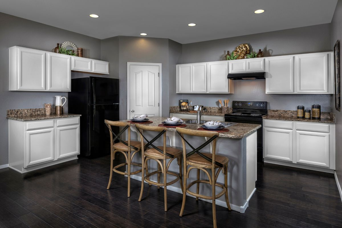 Kitchen-in-Plan 1903 Modeled-at-Copper Crest Villas Collection-in-Mesa
