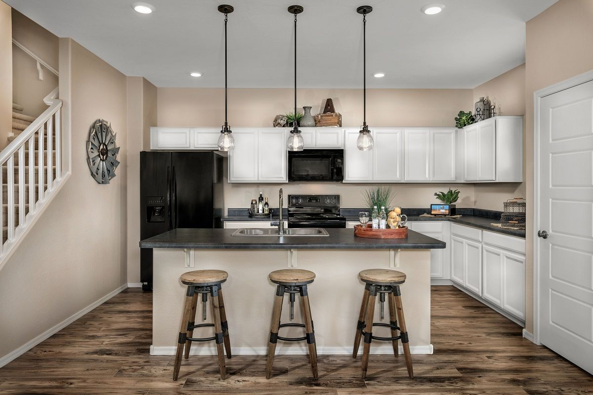 Kitchen-in-Plan 1932 Modeled-at-Villas at Sycamore Farms-in-Surprise