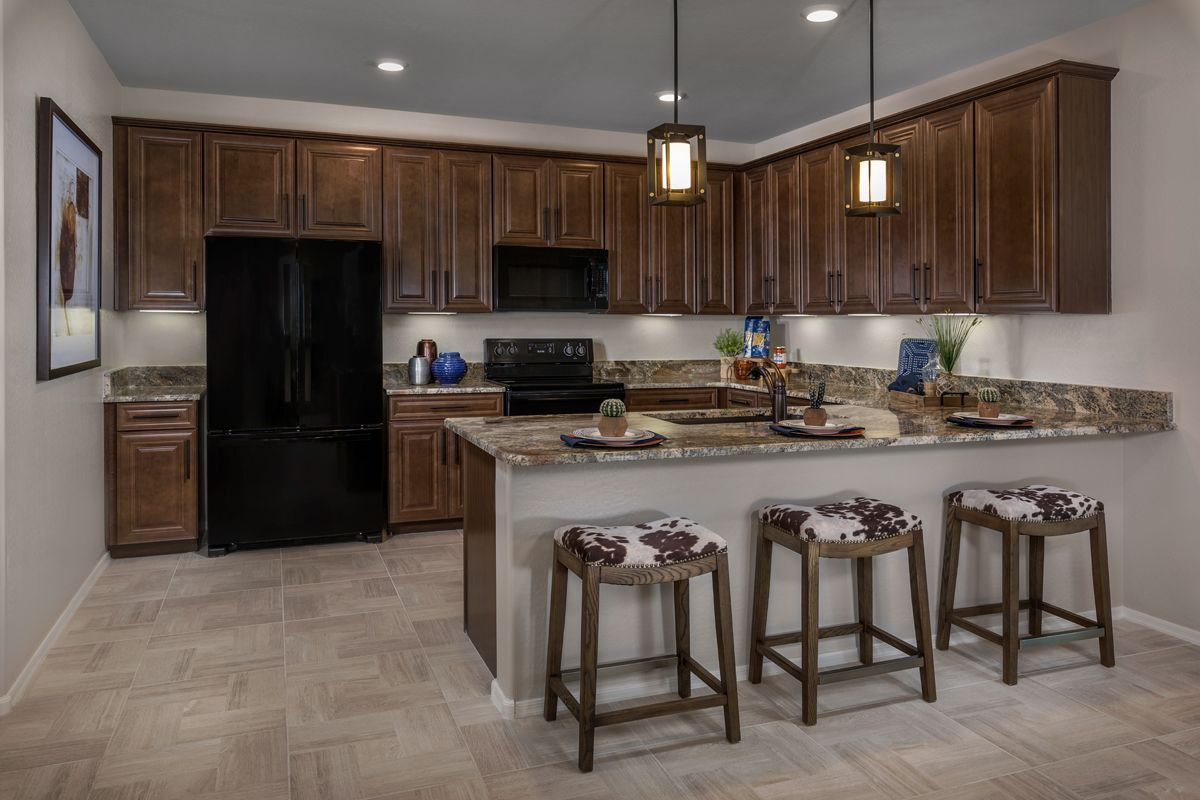Kitchen-in-Plan 2304 Modeled-at-The Villas at Rancho Paloma-in-Cave Creek