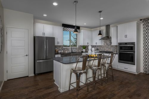 Kitchen-in-Plan 2367 Modeled-at-The Villas at Rancho Paloma-in-Cave Creek
