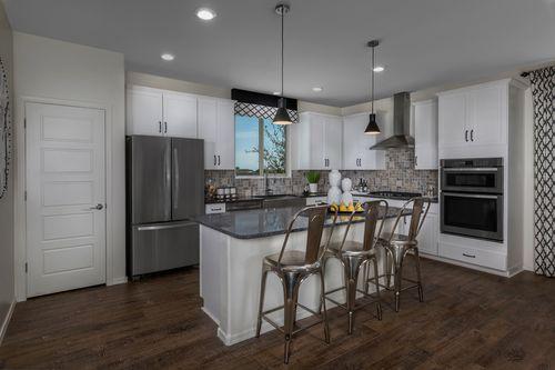 Kitchen-in-Plan 2367 Modeled-at-The Villas at Rancho Paloma-in-Cave Creek