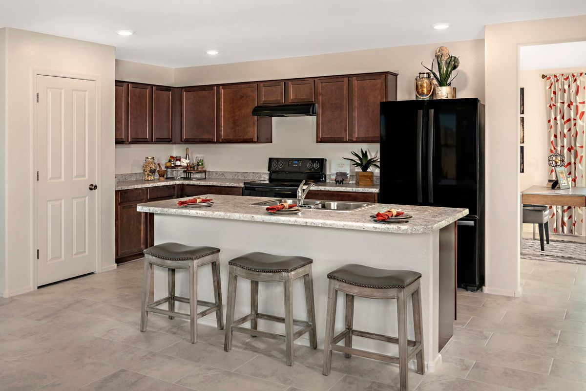 Kitchen-in-Plan 1849 Modeled-at-Crestfield Manor-in-Florence