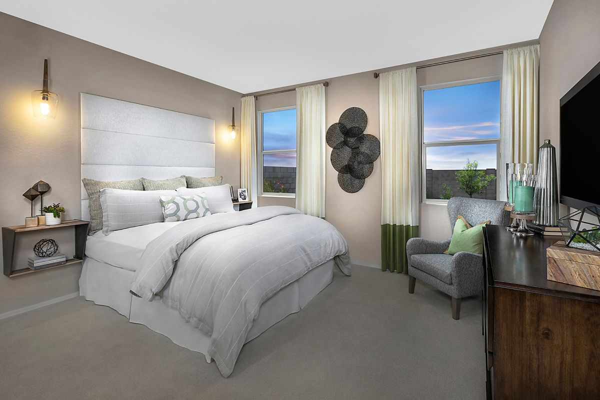 Bedroom featured in the Plan 1612 Modeled By KB Home in Phoenix-Mesa, AZ