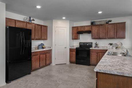 Kitchen-in-Plan 2188 Modeled-at-Sanverno at Desert Oasis-in-Surprise