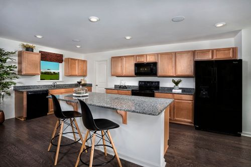Kitchen-in-The Grayson 1582-at-Union Station-in-Fuquay Varina