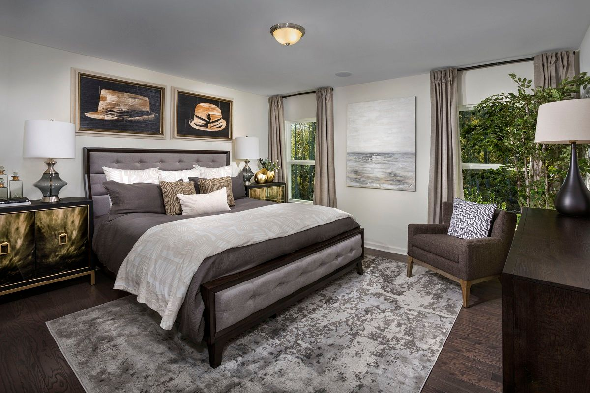 Bedroom-in-The Grayson 1582-at-Union Station-in-Fuquay Varina