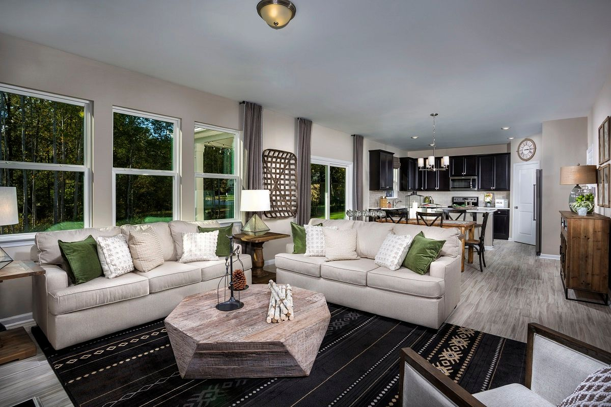 Living Area featured in The Coltrane II 2338 By KB Home in Raleigh-Durham-Chapel Hill, NC