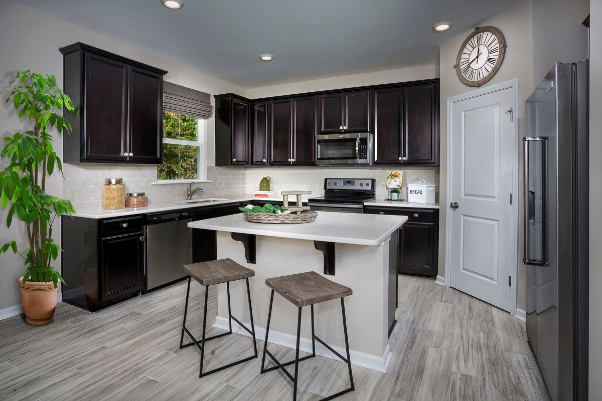 Kitchen featured in The Coltrane II 2338 By KB Home in Raleigh-Durham-Chapel Hill, NC