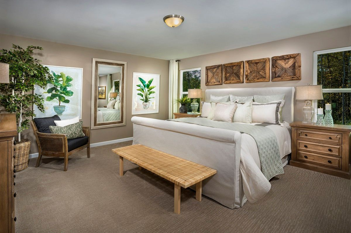 Bedroom featured in The Coltrane II 2338 By KB Home in Raleigh-Durham-Chapel Hill, NC