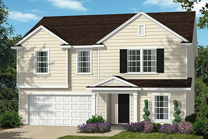 Exterior featured in The Coltrane II 2338 By KB Home in Raleigh-Durham-Chapel Hill, NC