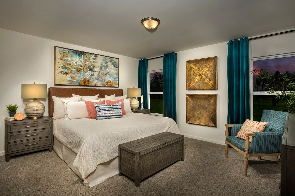 Bedroom featured in the Plan 1445 By KB Home in Raleigh-Durham-Chapel Hill, NC
