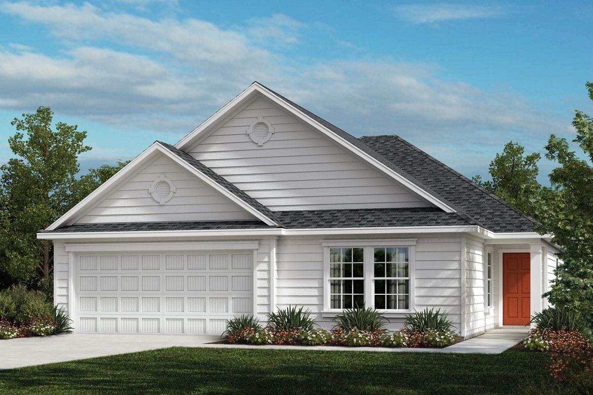 Exterior featured in The Griffith II 1821 By KB Home in Raleigh-Durham-Chapel Hill, NC