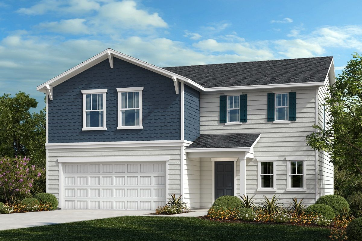 Exterior featured in The Murrow II 2199 By KB Home in Raleigh-Durham-Chapel Hill, NC
