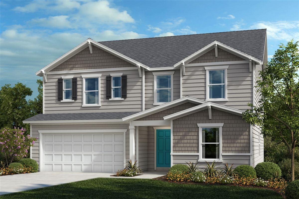 Exterior featured in the Plan 3174 By KB Home in Raleigh-Durham-Chapel Hill, NC
