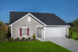 Plan 1582 Modeled - Freeman Farms: Youngsville, North Carolina - KB Home