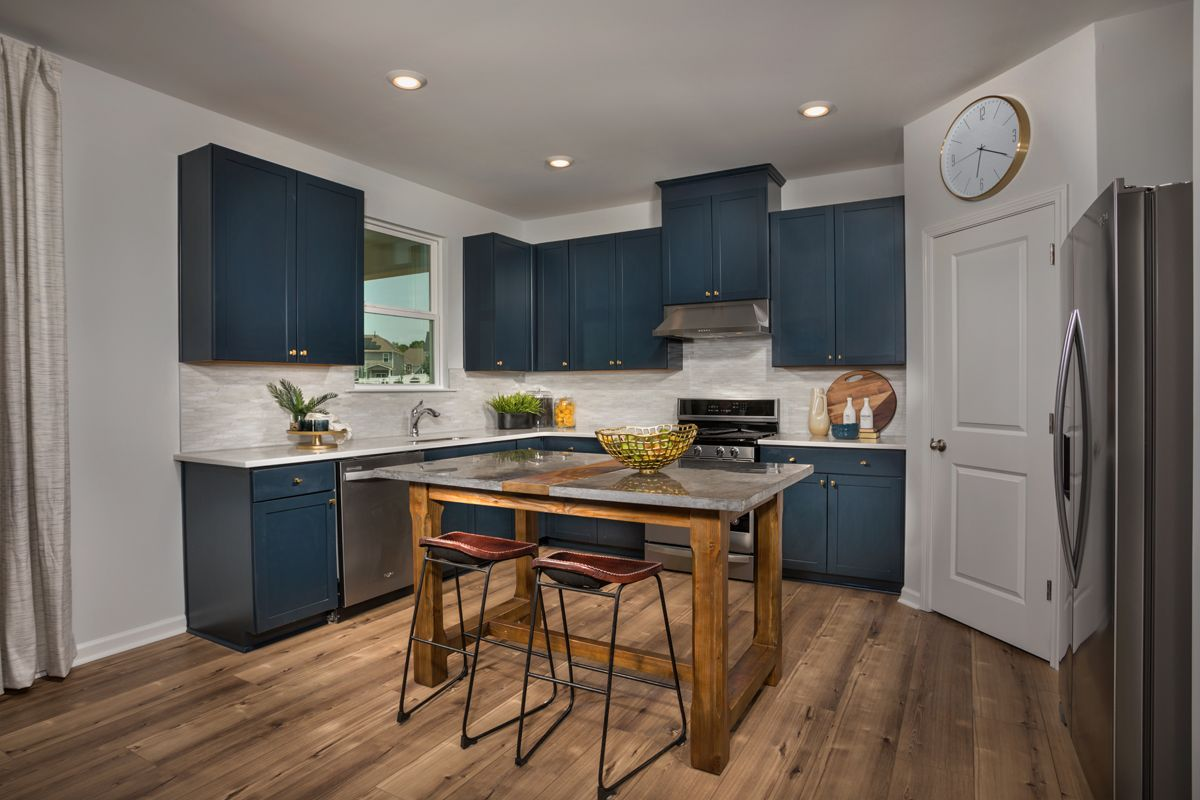 Kitchen featured in the Plan 2338 By KB Home in Raleigh-Durham-Chapel Hill, NC