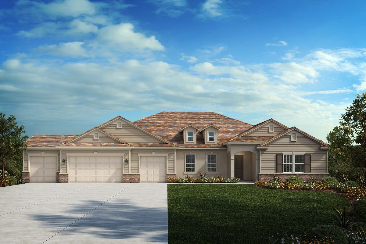 Exterior featured in the Residence Three By KB Home in Riverside-San Bernardino, CA
