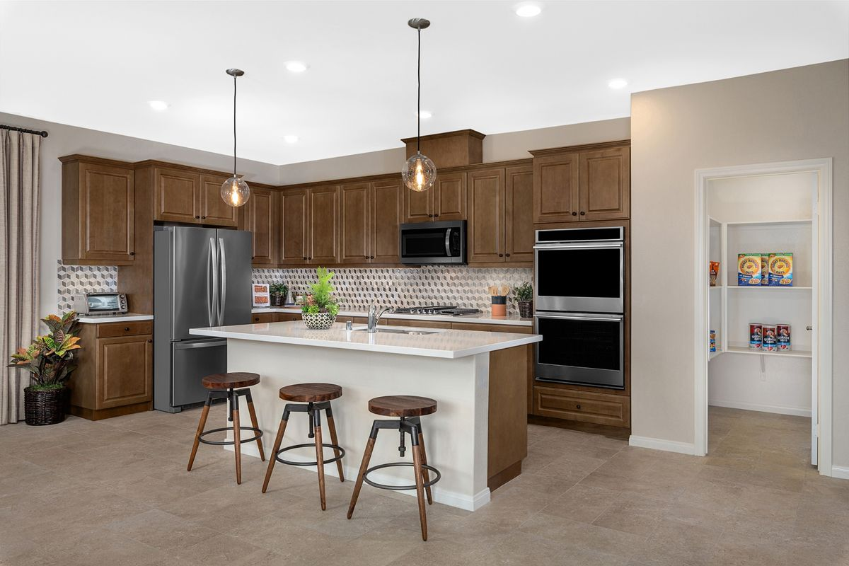 Kitchen featured in the Residence Five Modeled By KB Home in Riverside-San Bernardino, CA