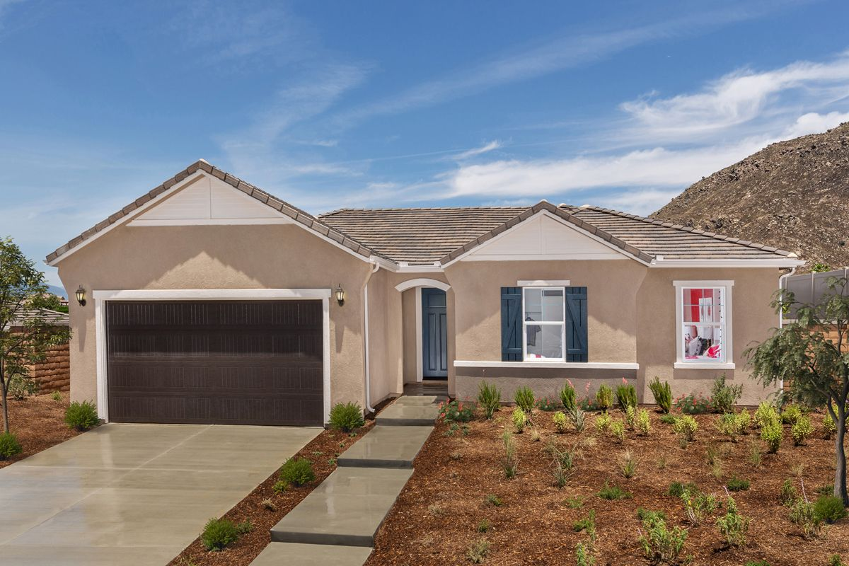 Exterior featured in the Residence Eleven Modeled By KB Home in Riverside-San Bernardino, CA