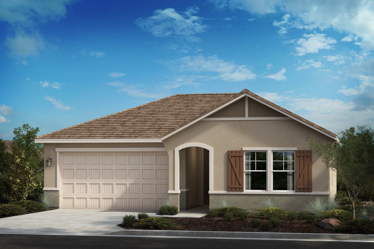 Exterior featured in the Residence Eight By KB Home in Riverside-San Bernardino, CA