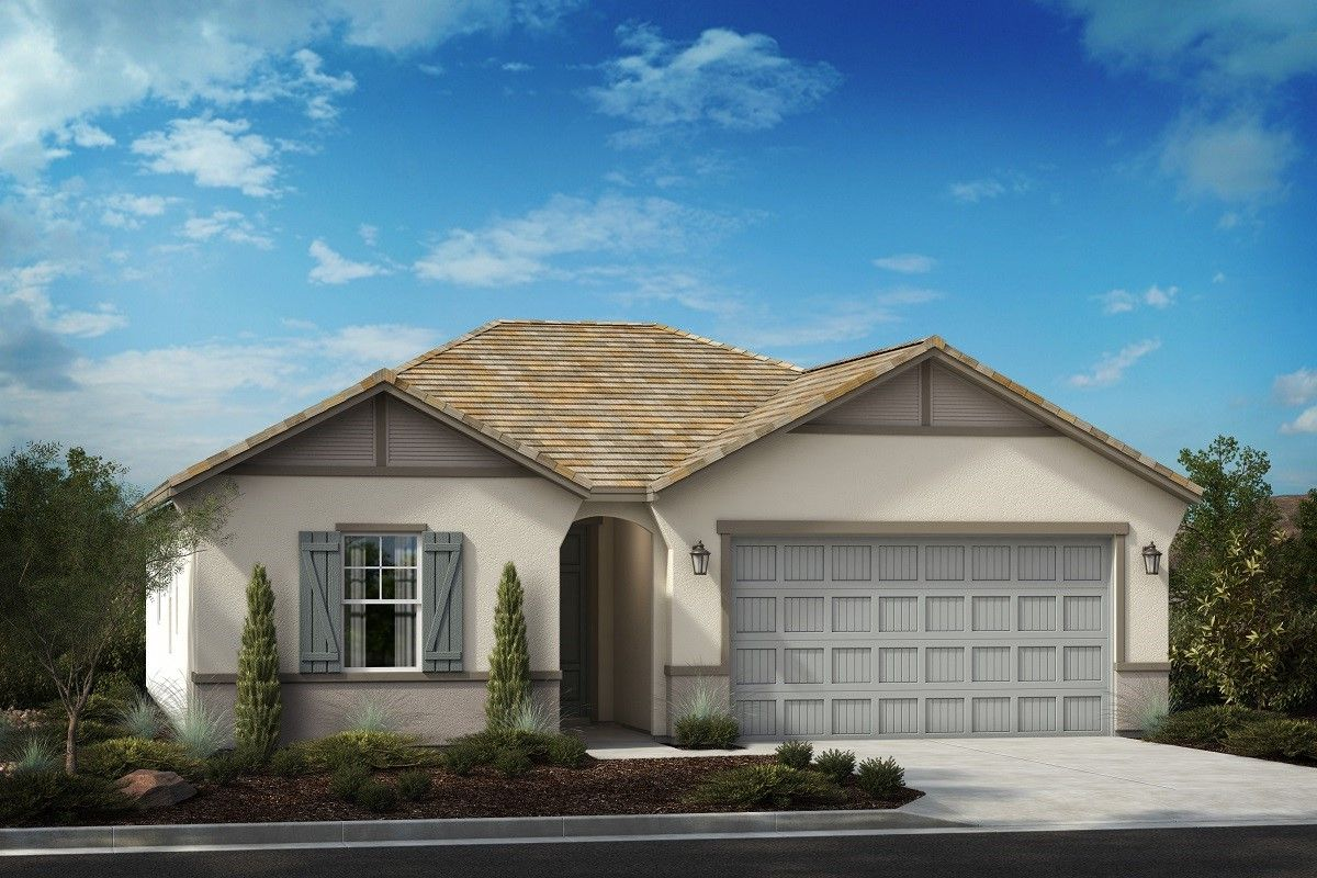 Exterior featured in the Residence Nine Modeled By KB Home in Riverside-San Bernardino, CA