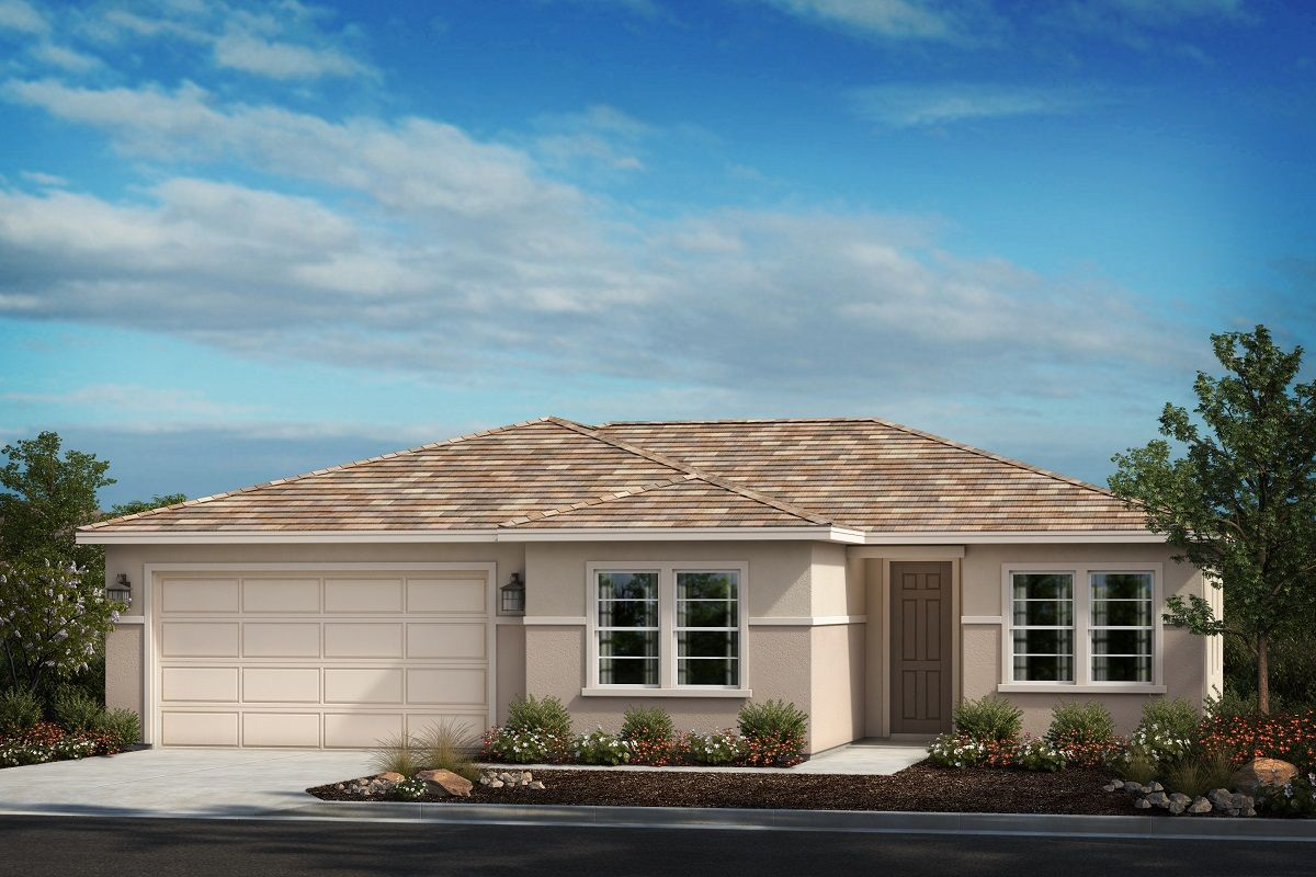 Exterior featured in the Residence Ten By KB Home in Riverside-San Bernardino, CA