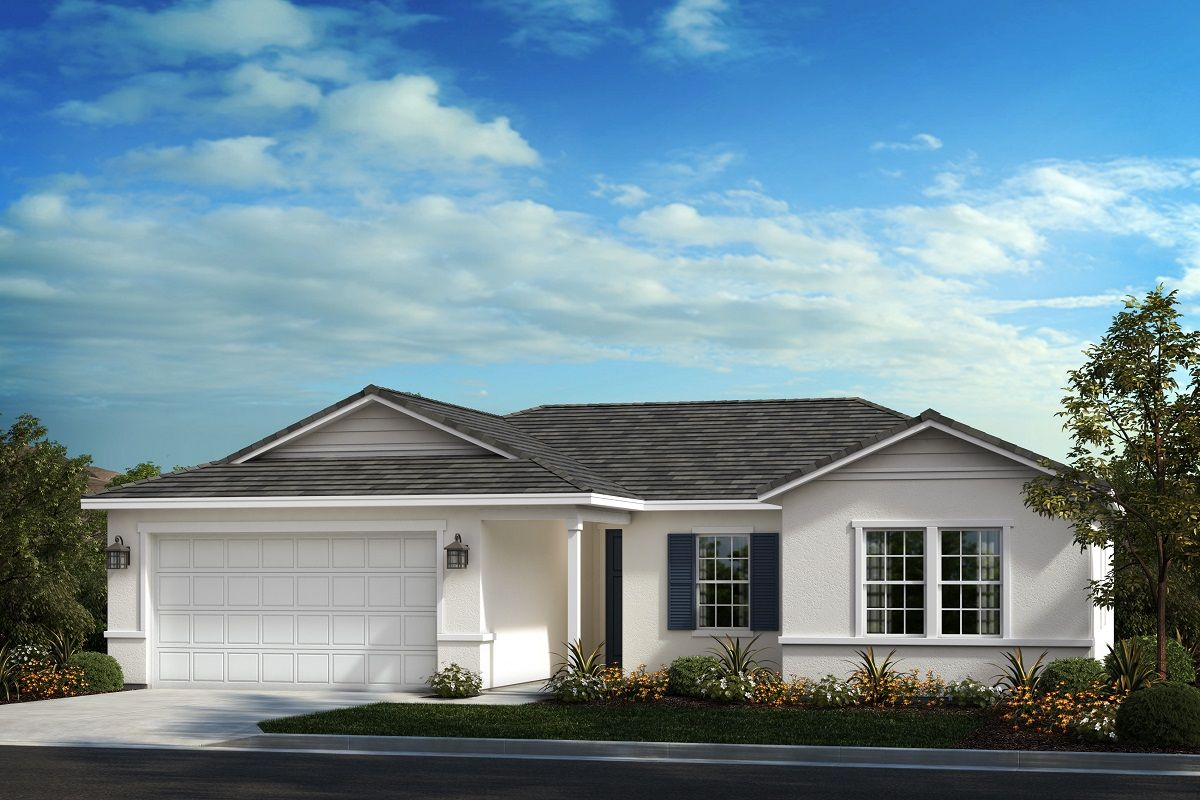 Exterior featured in the Residence Sixteen Modeled By KB Home in Riverside-San Bernardino, CA