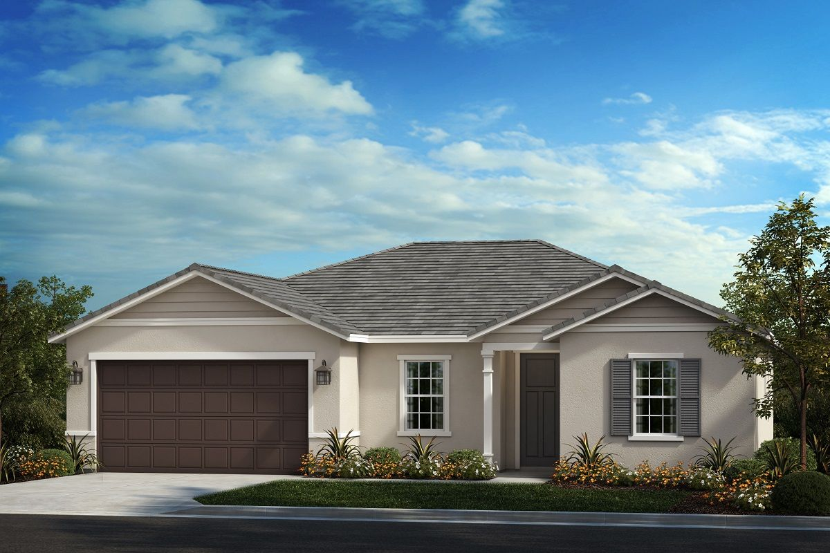 Exterior featured in the Residence Thirteen Modeled By KB Home in Riverside-San Bernardino, CA