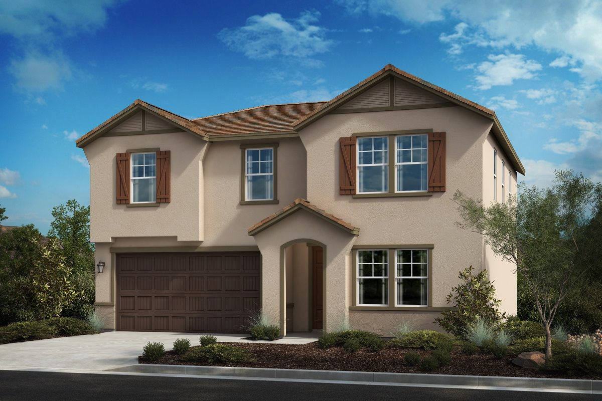 Exterior featured in the Residence Fourteen Modeled By KB Home in Riverside-San Bernardino, CA