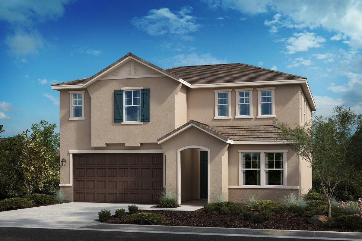 Exterior featured in the Residence Fifteen By KB Home in Riverside-San Bernardino, CA
