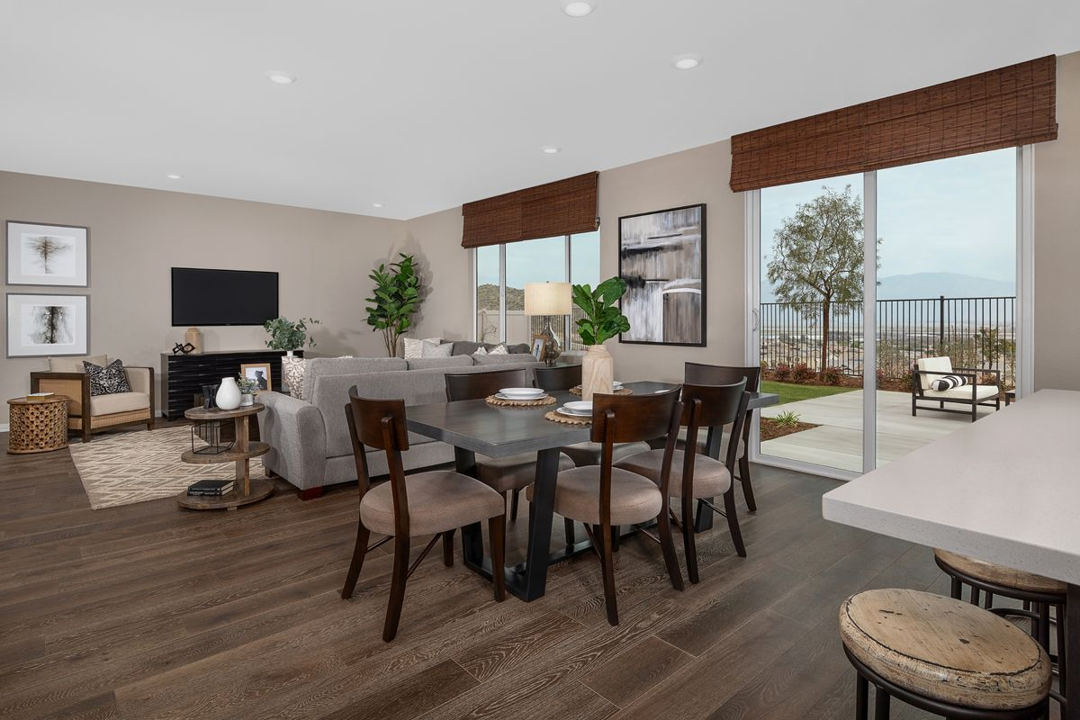 Living Area featured in the Plan 1698 Modeled By KB Home in Riverside-San Bernardino, CA