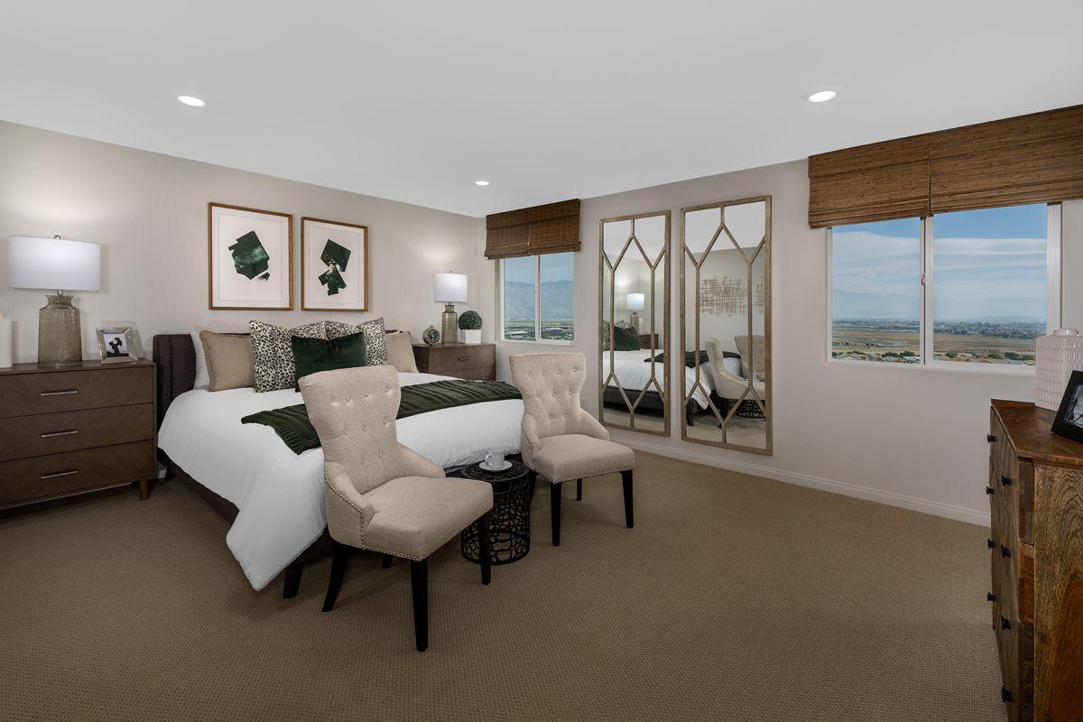 Bedroom featured in the Plan 2227 Modeled By KB Home in Riverside-San Bernardino, CA