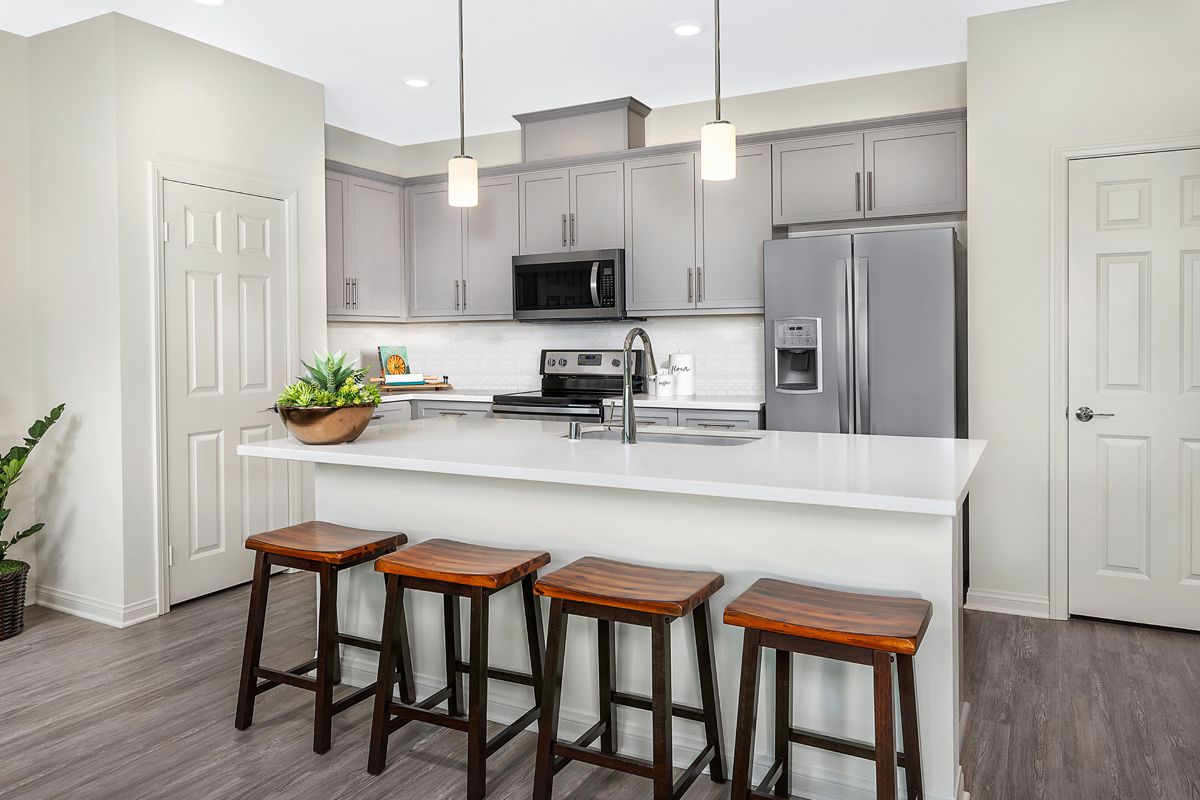 Kitchen featured in the Unit B By KB Home in San Diego, CA