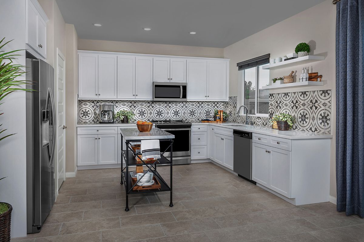 Kitchen featured in the Residence Two By KB Home in San Diego, CA