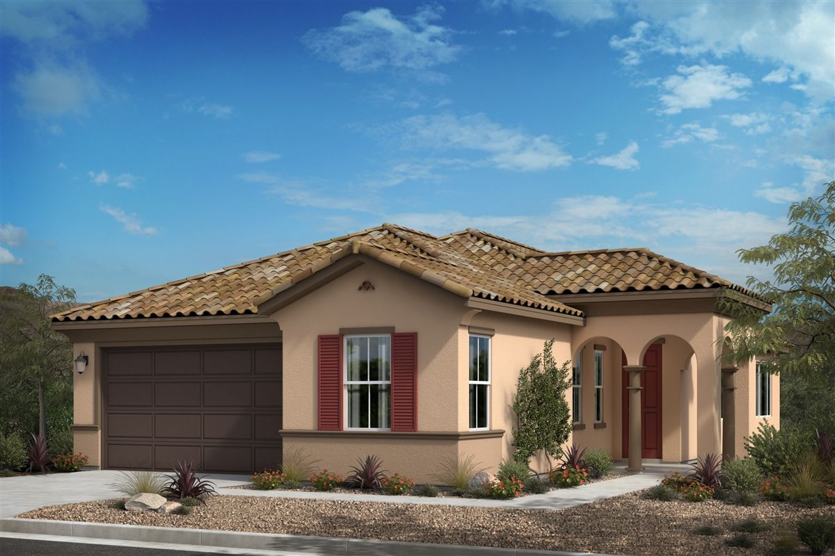 Exterior featured in the Plan 2424 By KB Home in San Diego, CA