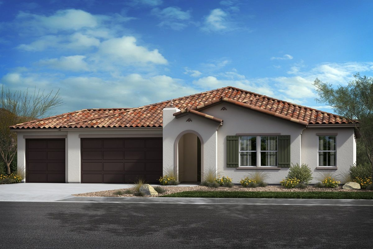 Exterior featured in the Plan 2620 Modeled By KB Home in San Diego, CA