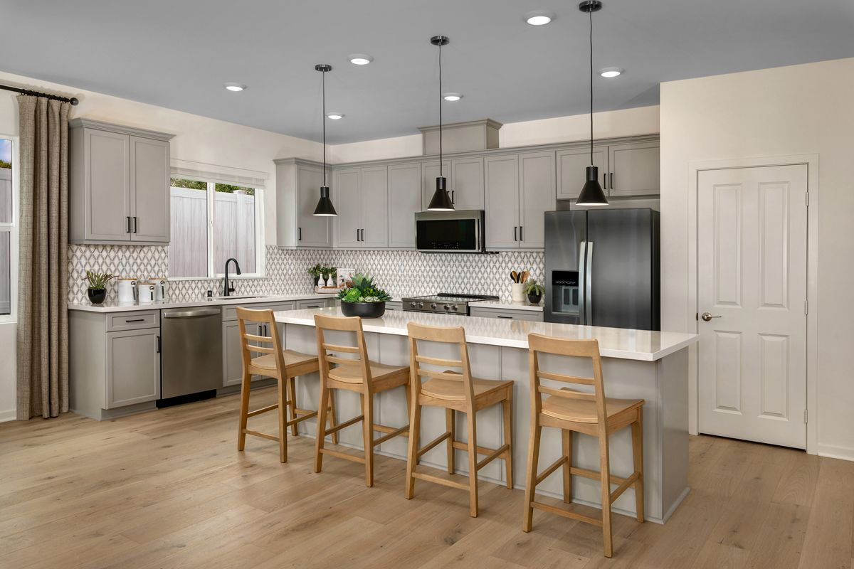 Kitchen featured in the Plan 2061 Modeled By KB Home in San Diego, CA