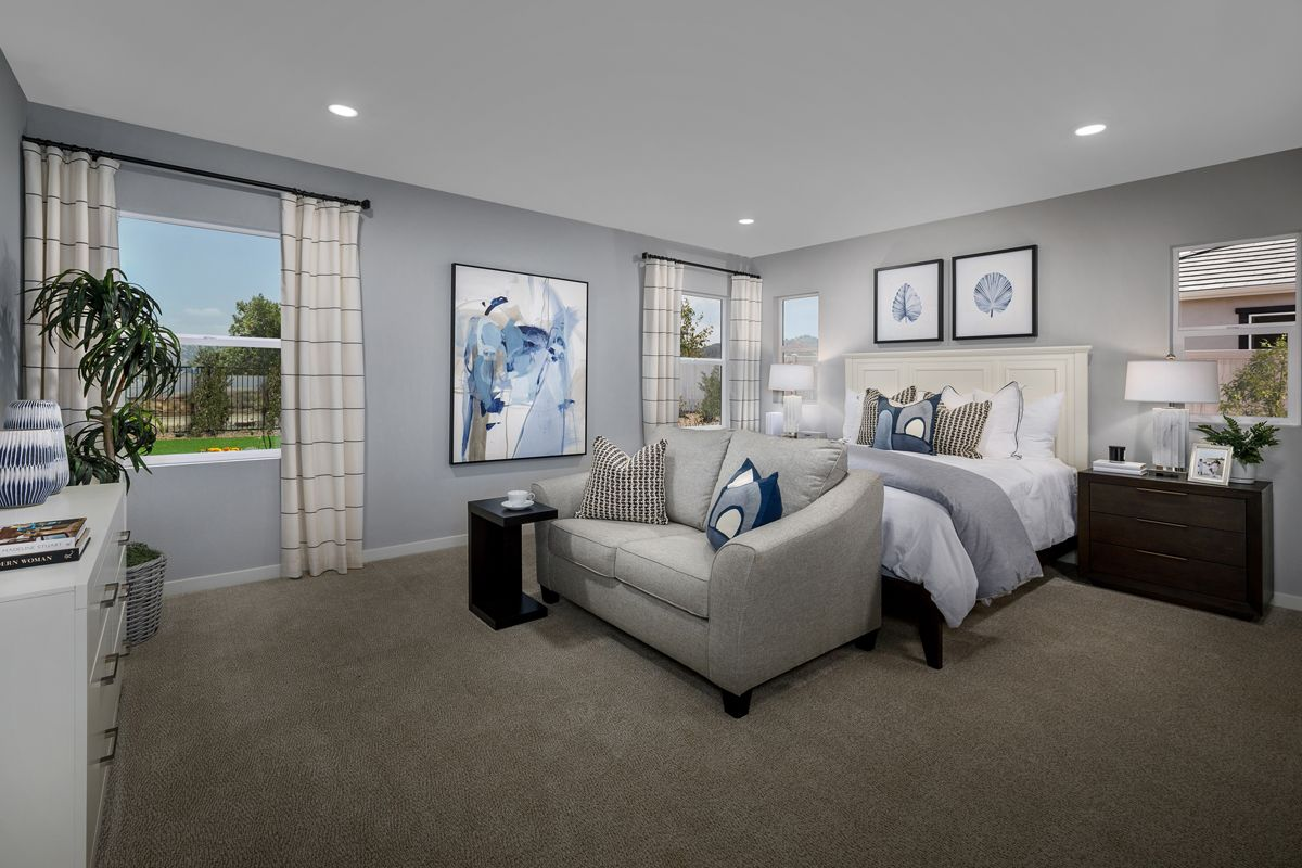 Bedroom featured in the Plan 2384 Modeled By KB Home in San Diego, CA