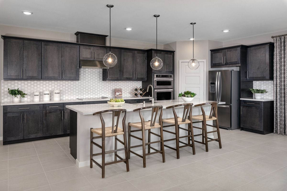Kitchen featured in the Plan 2620 Modeled By KB Home in San Diego, CA