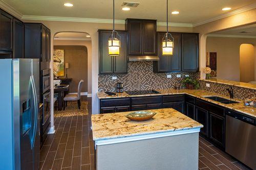Kitchen-in-Plan 3125 Modeled-at-Landmark Pointe-in-Cibolo